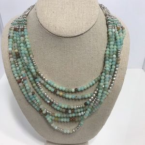Stella dot beaded necklace